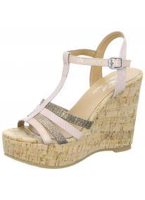 Damen Sandalette Wedge 06